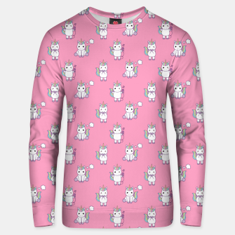 Thumbnail image of Cute Unicorns pattern  Unisex sweater, Live Heroes