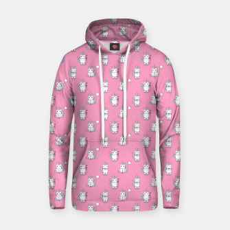 Thumbnail image of Cute Unicorns pattern  Hoodie, Live Heroes