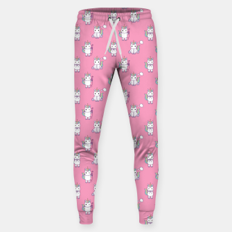Thumbnail image of Cute Unicorns pattern  Sweatpants, Live Heroes