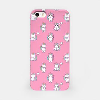 Thumbnail image of Cute Unicorns pattern  iPhone Case, Live Heroes