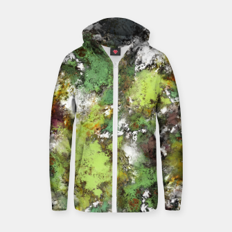 Thumbnail image of Invisible surface Zip up hoodie, Live Heroes