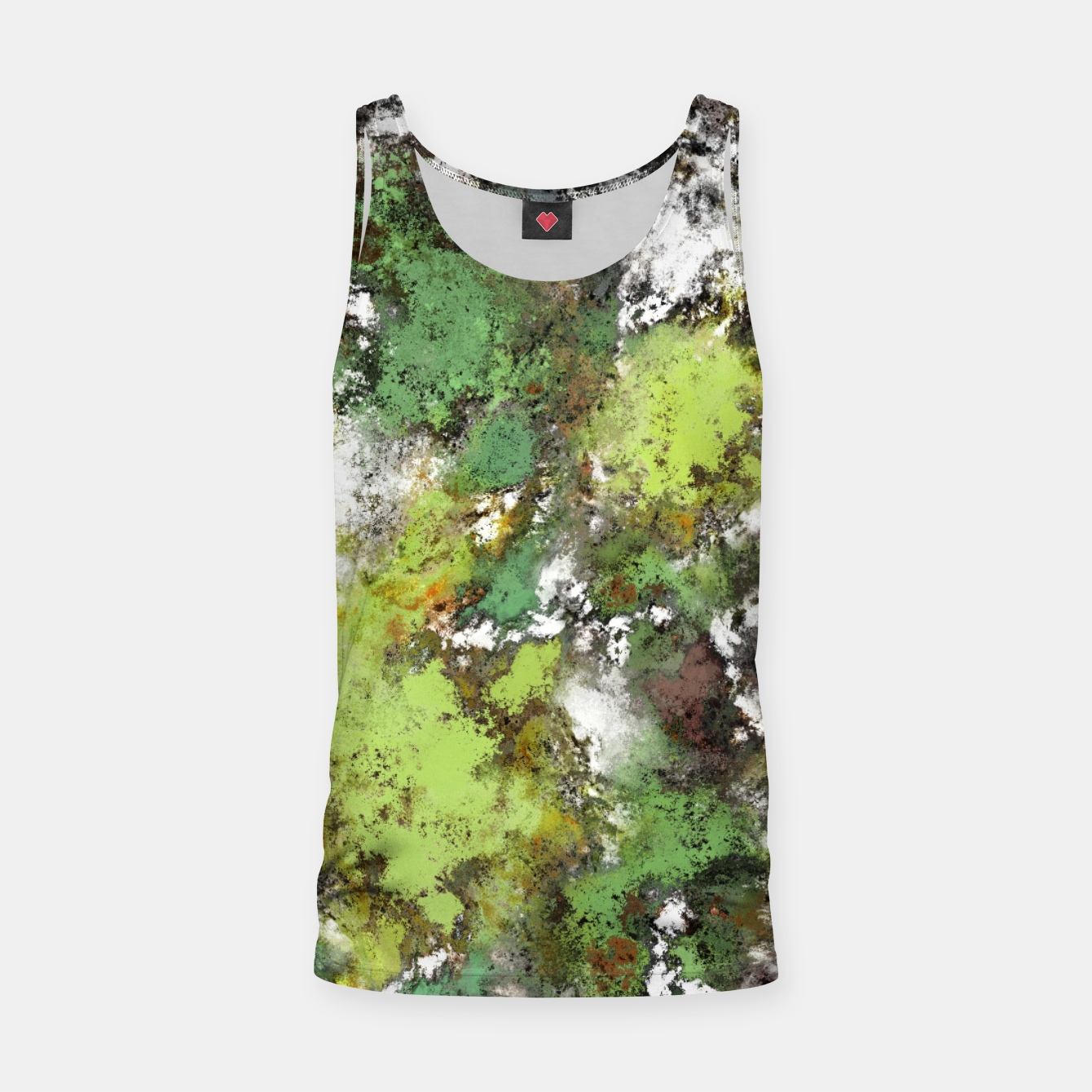 Image of Invisible surface Tank Top - Live Heroes