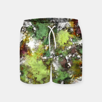 Miniatur Invisible surface Swim Shorts, Live Heroes