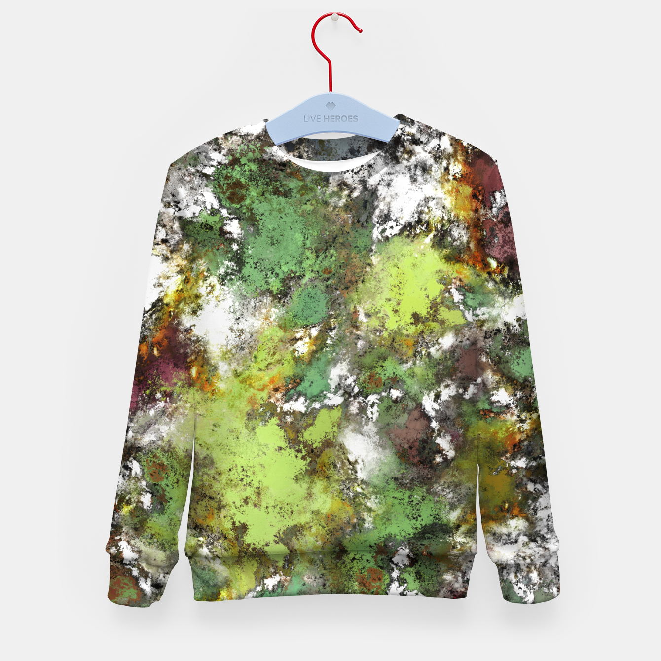 Image of Invisible surface Kid's sweater - Live Heroes