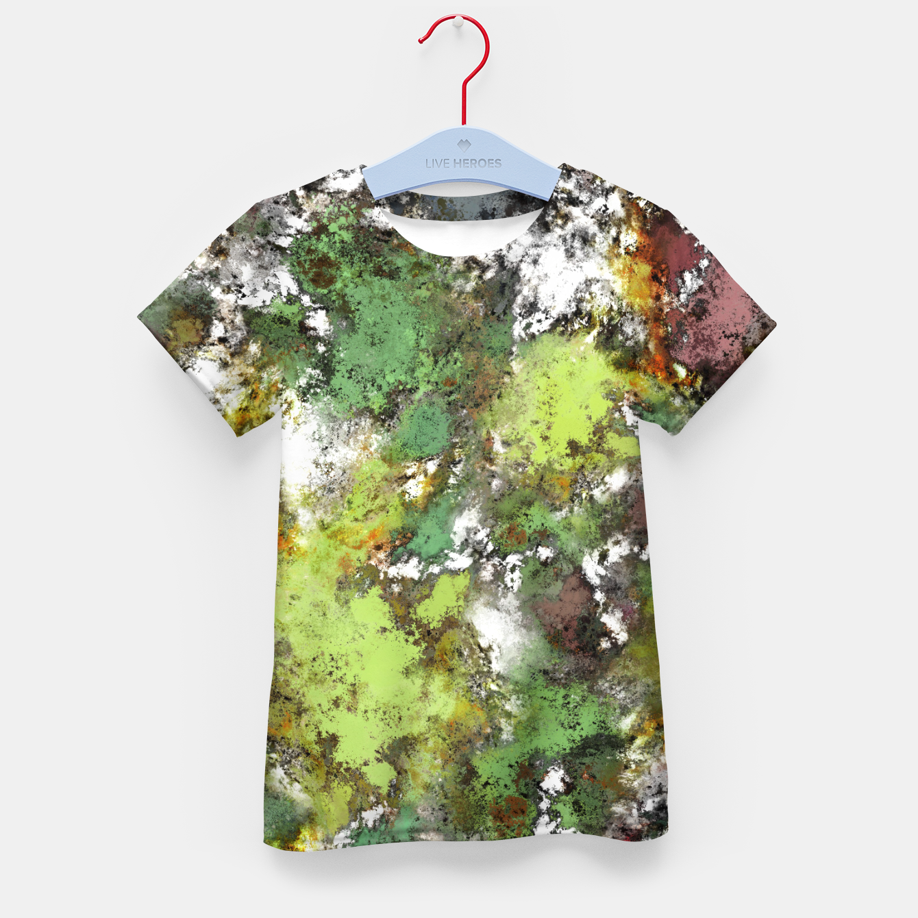 Image of Invisible surface Kid's t-shirt - Live Heroes