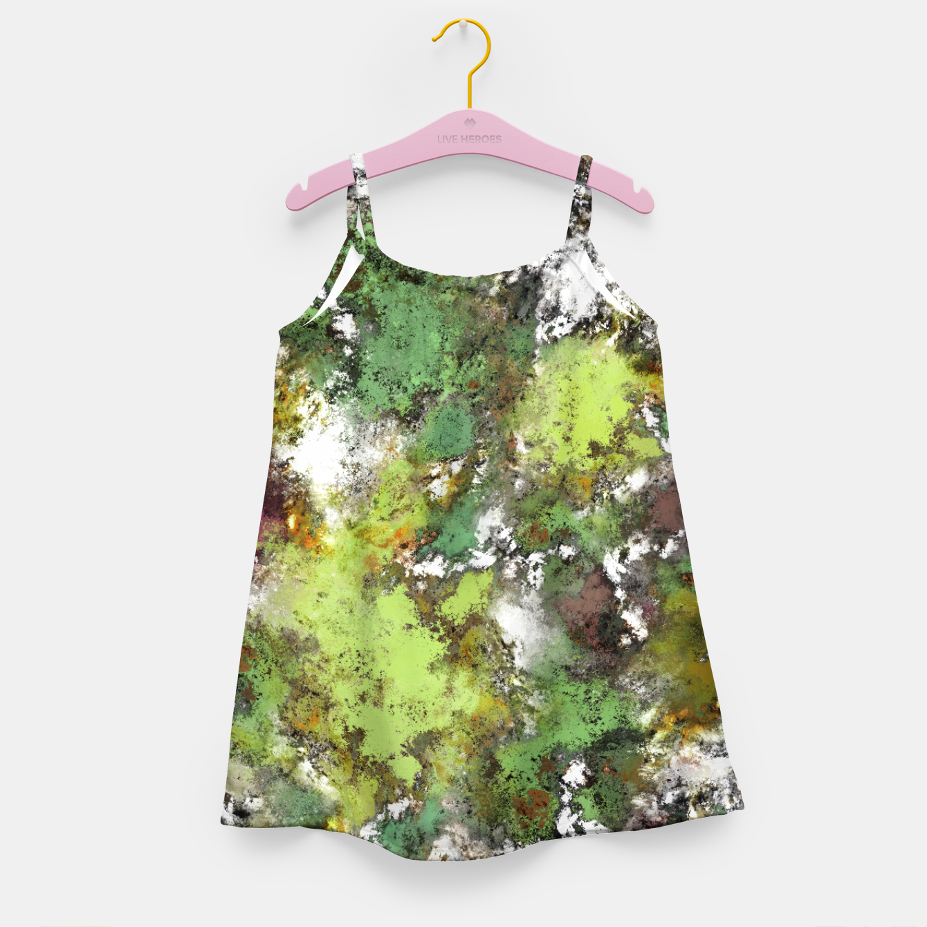 Image of Invisible surface Girl's dress - Live Heroes