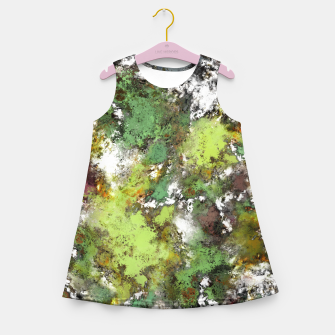 Miniatur Invisible surface Girl's summer dress, Live Heroes