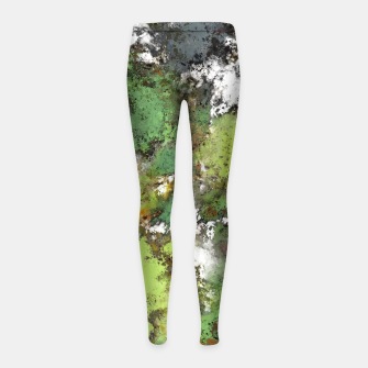 Miniatur Invisible surface Girl's leggings, Live Heroes
