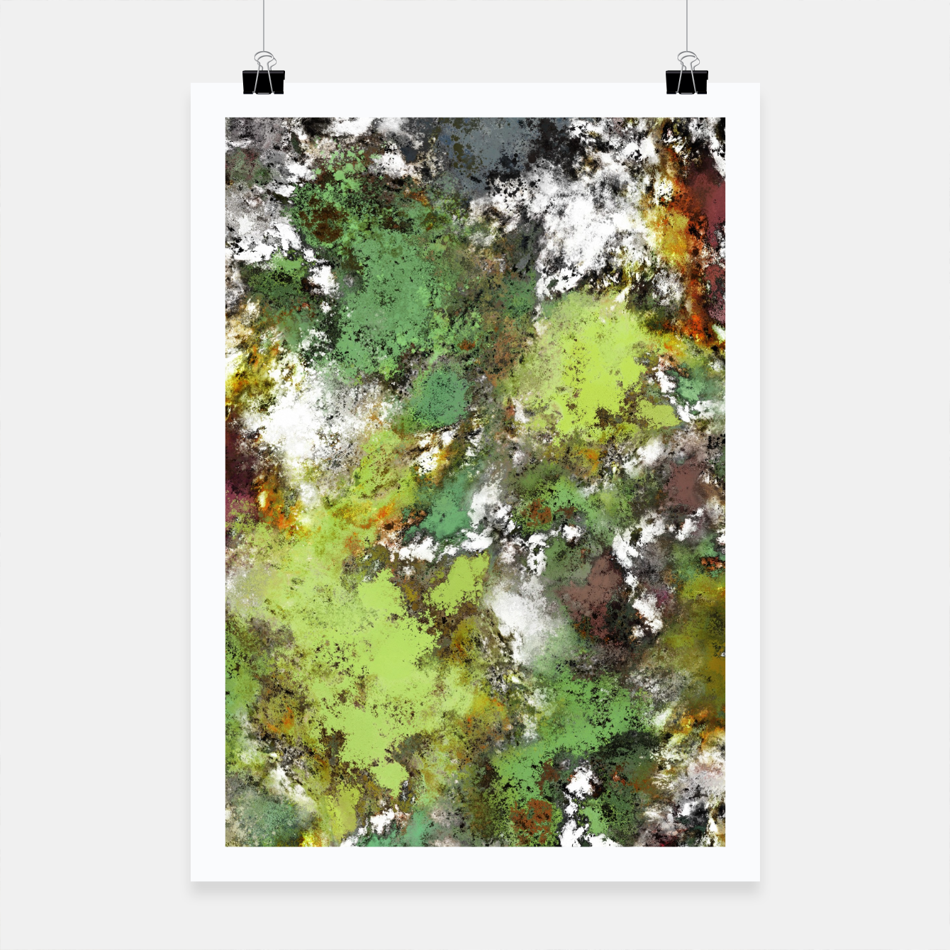 Image of Invisible surface Poster - Live Heroes