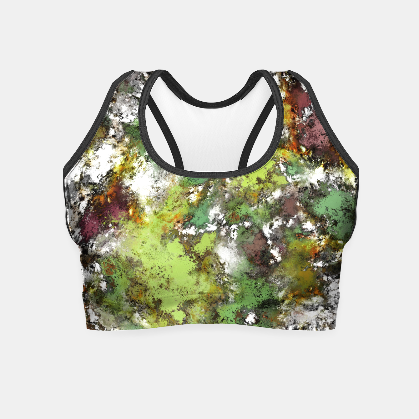 Image of Invisible surface Crop Top - Live Heroes