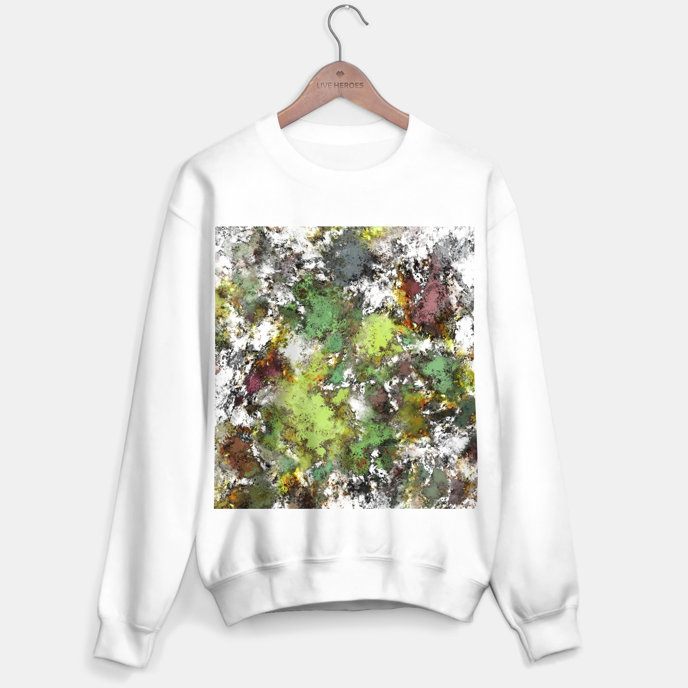 Image of Invisible surface Sweater regular - Live Heroes