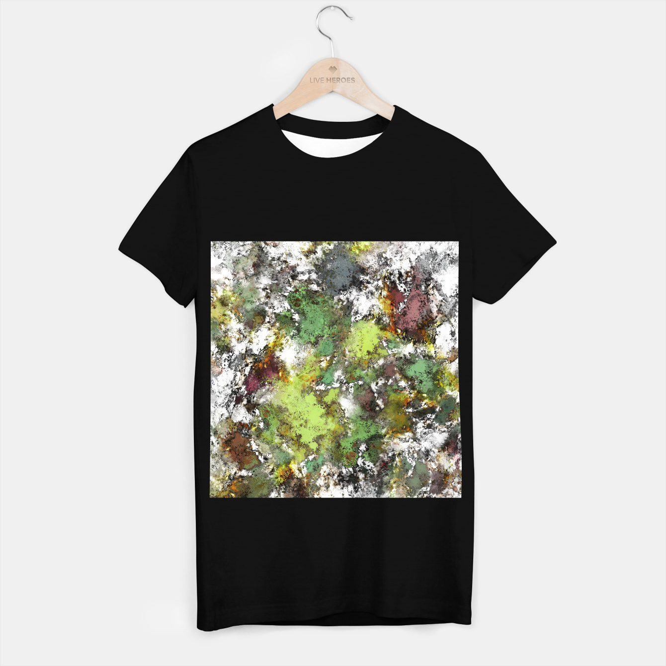 Image of Invisible surface T-shirt regular - Live Heroes