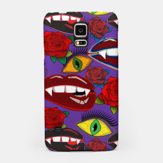 Thumbnail image of Creepy Girlish Pattern	 Samsung Case, Live Heroes