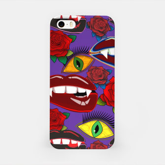Thumbnail image of Creepy Girlish Pattern	 iPhone Case, Live Heroes