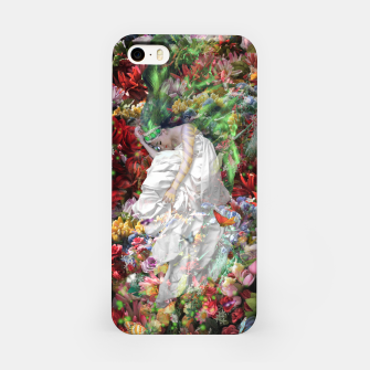 Thumbnail image of Laying In The Flowers iPhone Case, Live Heroes
