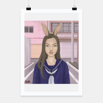Thumbnail image of Bunny Poster, Live Heroes
