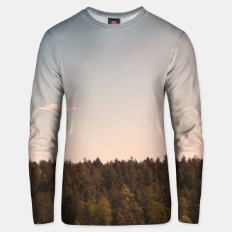 Miniatur Sky and forest Unisex sweater, Live Heroes