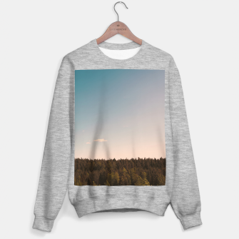 Miniatur Sky and forest Sweater regular, Live Heroes