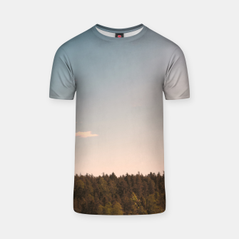Miniatur Sky and forest T-shirt, Live Heroes