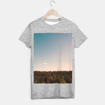 Miniatur Sky and forest T-shirt regular, Live Heroes