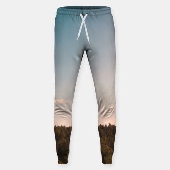 Miniatur Sky and forest Sweatpants, Live Heroes