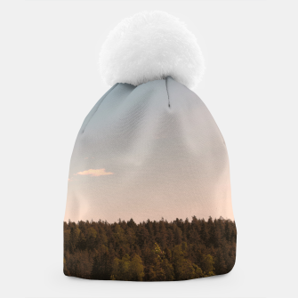 Miniatur Sky and forest Beanie, Live Heroes