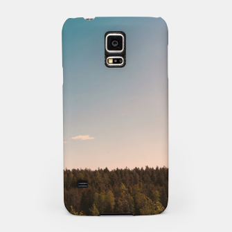 Miniatur Sky and forest Samsung Case, Live Heroes