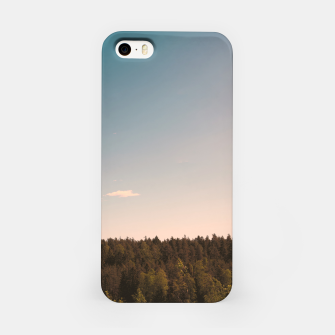 Miniatur Sky and forest iPhone Case, Live Heroes