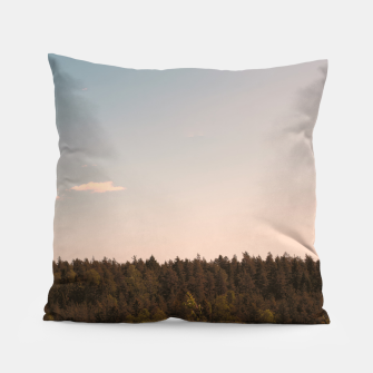 Miniatur Sky and forest Pillow, Live Heroes