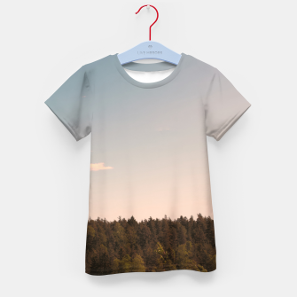 Miniatur Sky and forest Kid's t-shirt, Live Heroes