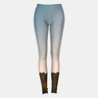 Miniatur Sky and forest Leggings, Live Heroes