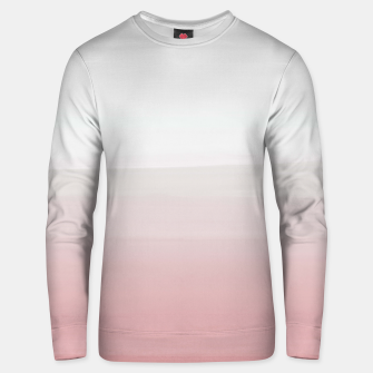 Thumbnail image of Touching Blush Gray Watercolor Abstract #3 #painting #decor #art  Unisex sweatshirt, Live Heroes