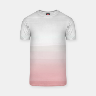 Thumbnail image of Touching Blush Gray Watercolor Abstract #3 #painting #decor #art  T-Shirt, Live Heroes