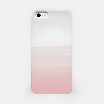 Thumbnail image of Touching Blush Gray Watercolor Abstract #3 #painting #decor #art  iPhone-Hülle, Live Heroes