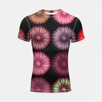 Thumbnail image of Colourful Daisy  Shortsleeve rashguard, Live Heroes