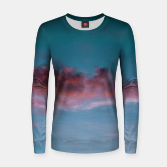 Miniatur Sunset clouds 3 Women sweater, Live Heroes