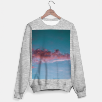 Thumbnail image of Sunset clouds 3 Sweater regular, Live Heroes