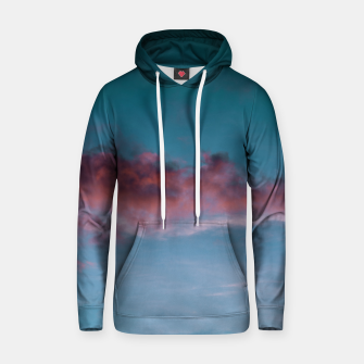 Thumbnail image of Sunset clouds 3 Hoodie, Live Heroes