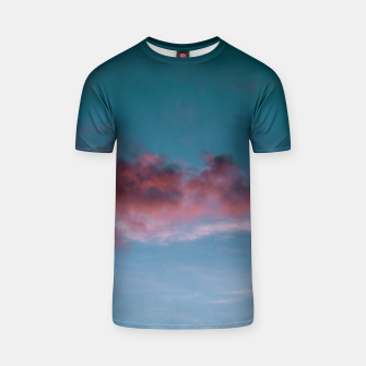 Thumbnail image of Sunset clouds 3 T-shirt, Live Heroes