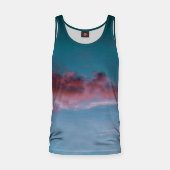 Miniatur Sunset clouds 3 Tank Top, Live Heroes