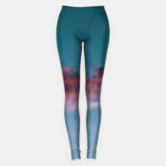 Thumbnail image of Sunset clouds 3 Leggings, Live Heroes