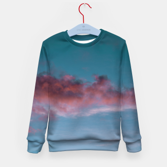Miniatur Sunset clouds 3 Kid's sweater, Live Heroes