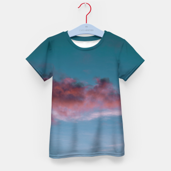 Miniatur Sunset clouds 3 Kid's t-shirt, Live Heroes