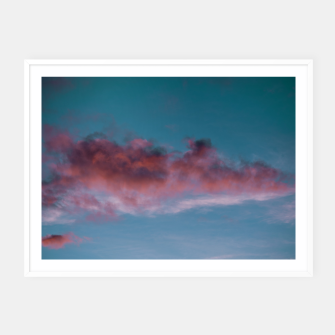 Miniatur Sunset clouds 3 Framed poster, Live Heroes