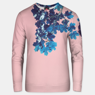 Miniatur Maple branches Unisex sweater, Live Heroes