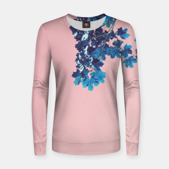 Miniatur Maple branches Women sweater, Live Heroes