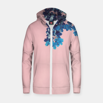 Miniatur Maple branches Zip up hoodie, Live Heroes
