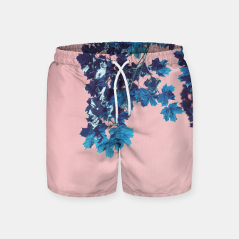 Miniatur Maple branches Swim Shorts, Live Heroes