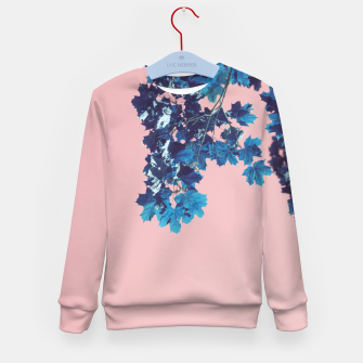 Miniatur Maple branches Kid's sweater, Live Heroes