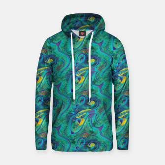 Thumbnail image of Peacock Abstract Hoodie, Live Heroes